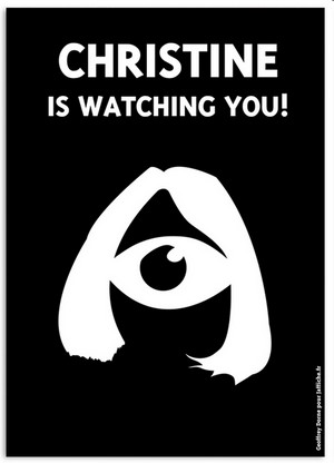 Christine is watching you!